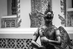 Dio della statua dell'uccello Fotografia Stock Libera da Diritti
