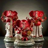 Dio di Ganesha di indù Immagine Stock