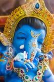 Dio di Ganesha di successo Fotografie Stock