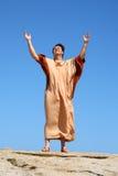 dio di gloria a Immagini Stock