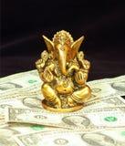 Dio di ricchezza Fotografia Stock Libera da Diritti