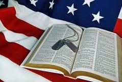 Dio e paese Immagine Stock