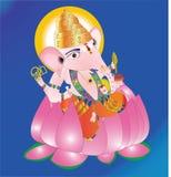 Dio Ganapathi Fotografie Stock