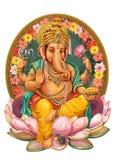 Dio Ganesha illustrazione vettoriale