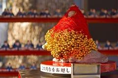 Dio giapponese del tenjin di borsa Fotografia Stock