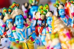 Dio indù Krishna Immagini Stock Libere da Diritti