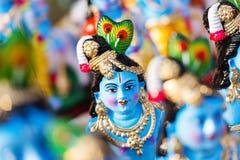 Dio indù Krishna Immagine Stock