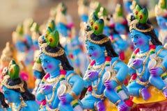 Dio indù Krishna Immagini Stock