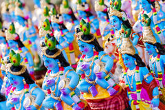 Dio indù Krishna Fotografia Stock