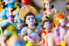 Dio indù Krishna Fotografie Stock Libere da Diritti