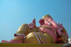 Dio indù, statua di Ganesh Immagini Stock
