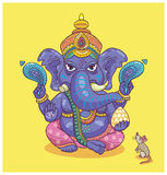 Dio indiano Ganesha Fotografia Stock