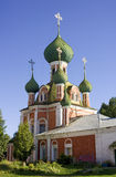 Dio zalessky della madre dell'icona del vladimir della cattedrale di Pereslavl Fotografia Stock