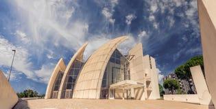 Dioaalmoezenier Misericordioso - Moderne architectuur royalty-vrije stock foto