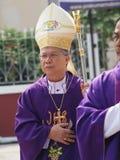 Diocèse de Phillip Banchong Chaiyara de pontife d'Ubon Image libre de droits