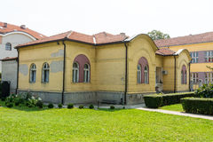 Diocesan Administration in Leskovac, Serbia Royalty Free Stock Photos