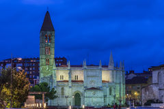 Diocesan cathedral of Valladolid Royalty Free Stock Images