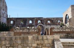 diocletian宫殿已分解 库存图片