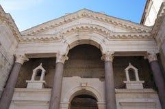 diocletian宫殿已分解 免版税库存照片