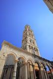 diocletian宫殿s已分解 库存图片