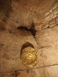 Diocletian的宫殿的地下室已分解的 库存照片