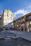 Diocletian的宫殿(联合国科教文组织遗产站点) 免版税库存图片