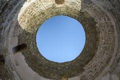 Diocletian陵墓圆顶 免版税库存照片