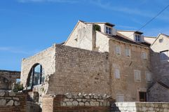diocletian διάσπαση παλατιών Στοκ εικόνα με δικαίωμα ελεύθερης χρήσης
