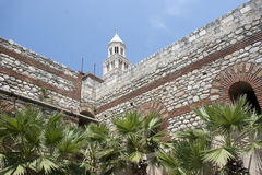 diocletian παλάτι Στοκ Εικόνα