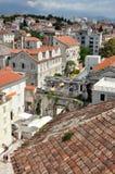 diocletian παλάτι η καθολική Κροατία εισήγαγε αρχικά το μαζικό ιερέα που χωρίστηκε σε ιδιωματικό ποιοι Στοκ φωτογραφίες με δικαίωμα ελεύθερης χρήσης