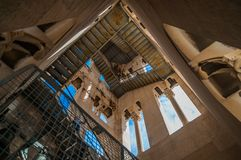 Diocletian bell tower interior stock image