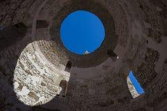 Diocletian pałac, rozłam Zdjęcie Stock