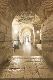 Diocletian palace basement Royalty Free Stock Photography