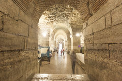 Diocletian palace basement Stock Photo