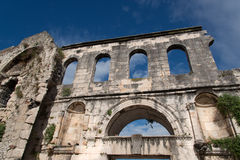 Diocletian palace ruins - Split Stock Image