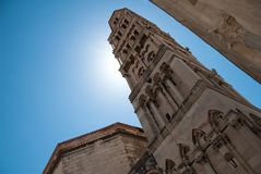 The diocletian palace in Split Stock Photo