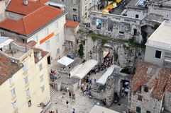 Diocletian Palace. Split, Croatia Royalty Free Stock Images