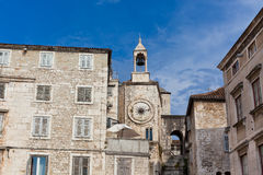 Diocletian Palace in Split, Croatia. Horizontal shot Royalty Free Stock Image