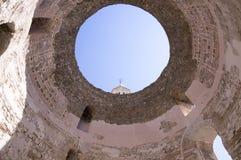 Diocletian-Palast, alte historische Stadtspalte, Kroatien, Europa stockfotografie