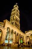 Diocletian-Palast, Spalte, Kroatien Stockfoto