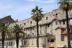 Diocletian ` s宫殿 免版税库存照片