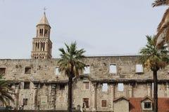 Diocletian ` s宫殿 免版税库存图片
