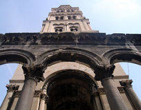 diocletian s pałacu. fotografia stock