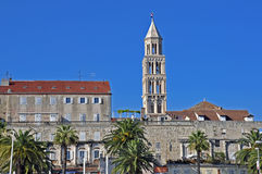 Diocletian's palace and cathedral Royalty Free Stock Image