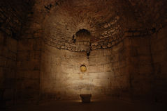Diocletian's Palace. The dungeon of emperor Diocletian's Palace in Split, Croatia Stock Photos