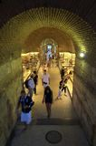 Diocletian`s palace in Split Stock Photography