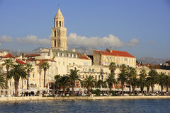 Diocletian's Palace, Split waterfront. Croatia Stock Photo