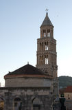 Diocletian's Palace and tower, Split, Croatia Stock Images