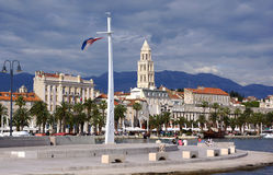 Diocletian's Palace from the Waterfront Stock Image