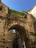 diocletian slott Arkivfoto